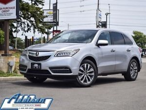 2015 Acura MDX at Tech & Navi PKG NO Accidents Loaded