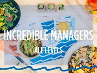 Incredible Management Opportunity in Healthy Fast Food