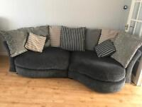 Large 4 seater dfs sofa