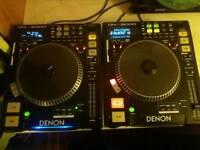 Denon DN-S5000 CDJ's (Pair)