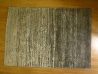 Rug 120cm x 170cm not walked on much.