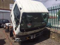 Mitsubishi canter chassis cab 3.0 td 2005 breaking