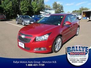 2012 Chevrolet Cruze LT! Sunroof! ONLY 78K! Alloy! Save!