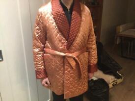 Men's luxury dressing gown, size medium/large