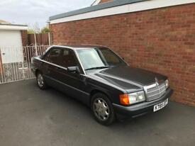 Mercedes 190E Auto immaculate low miles