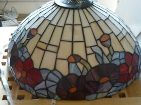 Tiffany style lampshades and wall lights