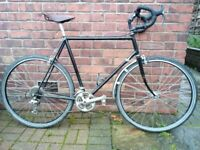 Touring road bike reynolds 531 1980s retro holdsworth mirage / claud butler Dalesman brooks saddle