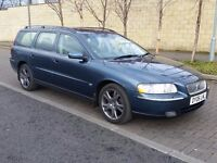 06 Volvo V70 2.4 D5 SE Estate - Top of the range - Economic, Reliable, Spacious, Very Tidy