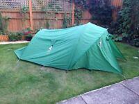 Stormshield 2 man Tent + Camp bed.