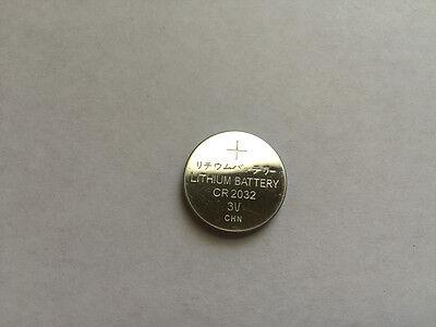 1pc CR2032 DL2032 BR2032 LM2032 2032 3V Bulk Lithium battery
