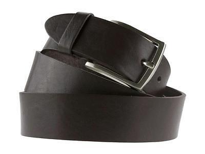 Cintura da uomo in cuoio testa di moro 4 cm artigianale made in Italy
