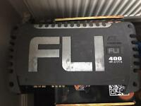 Fli 2 channel amplifier - 400 watts
