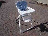 Folding High Chair (2 available)