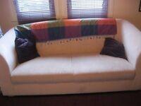 Soft Beige Two seat Sofa
