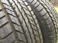 2x As new Good Year 195/60 R15