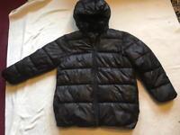 H&M ladies puffy jacket size 12 used black £4