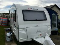 2012 Caravan with 2 Awnings and all equipment - Like Brand New