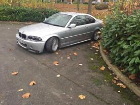 Bmw E46 coupe bbs leather