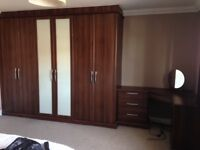 Hammonds Bedroom Furniture - inc Wardrobes, bedside cabinets, dressing table, chest of drawers
