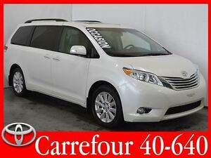 2014 Toyota Sienna Limited AWD Cuir+ Navigation+ Toit Ouvrant+ D