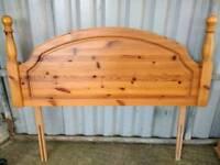 Pine Double Headboard for sale