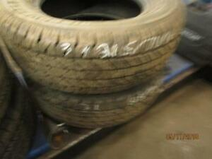 215/70R16 2 ONLY USED COOPER A/S TIRES