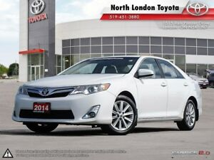 2014 Toyota Camry XLE No Accidents, Toyota Serviced