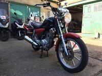 Yamaha YBR 125 Custom 2012 in good condition for sale £1200