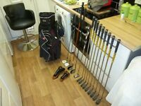 Full set of ping g2 blue spot golf cubs right handed