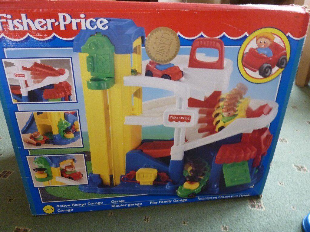 Garage Fisher Price : Little people garage memory lane childhood toys toys
