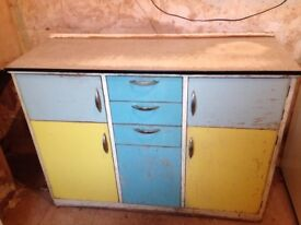 1950s freestanding kitchen cabinet