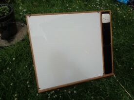 Vintage Printers Plywood Light Box with Integral Stand