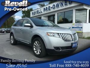 2013 Lincoln MKX AWD  *1-owner  ONLY 20k  Moon  Nav