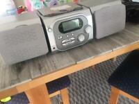 Mini CD player & speaker system