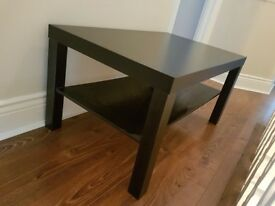 Black coffee table IKEA / good condition