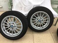 Bmw alloys winter tyres