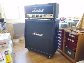 Marshall half stack. Tsl100 head all valve with marshall 425a cab.