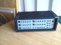 PM 600 AMPLIFIER WITH A WESTFIELD DUEL CD PLAYER AND 2 WHARFDALE PRO 600 SPEAKERS