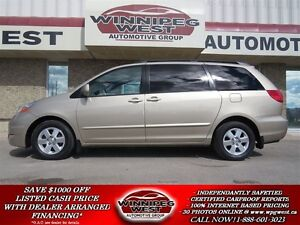 2007 Toyota Sienna 8 PASSENGER LE EDITION, DVD SYS, POWER DOORS,