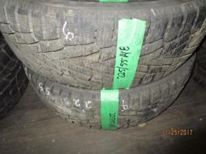 225/55R18 2 ONLY USED