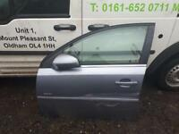 2007 Vauxhall vectra passenger side door in silver