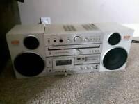 Nec Vintage Mini Hi-Fi System For Sale