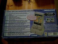 medion satnav and pocket pc