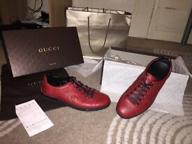 liminted edition size 8 Gucci trainers bargin price!!!