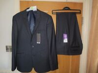 Gent's suit. Burtons brand new . Price tags still on.Slim fit. 38 R jacket. 32 R trousers.