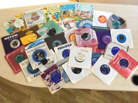 GREAT SET OF 45 VINYL RECORDS OVER 50 AVAILABLE.