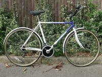 "Gents 21"" Classic Raleigh Pioneer Hybrid Commuter Bike"