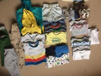 Baby boy bundle of cloths