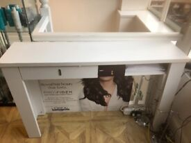 Used White hall table