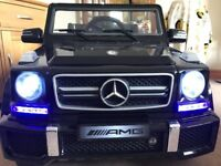 MERCEDES BENZ AMG 12V KIDS RIDE ON JEEP/CARS